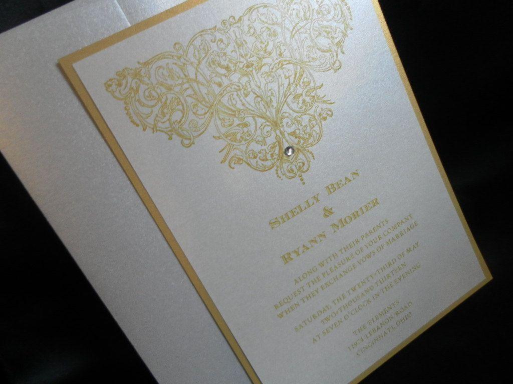 Diy wedding invitation wedding invites pinterest diy wedding