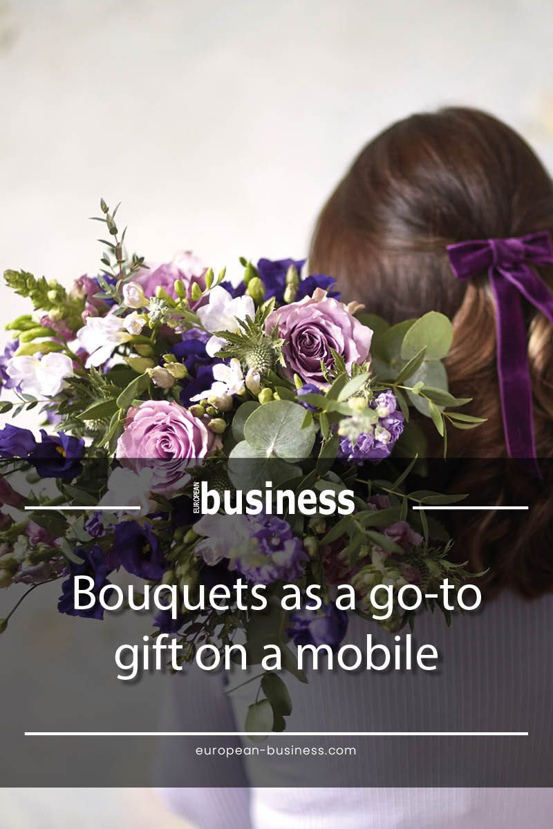 Bouquets As A Go To Gift On A Mobile Mit Bildern