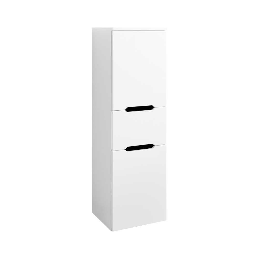 Badezimmer Hochschrank in Hochglanz Weiß 40 cm breit Jetzt bestellen ...