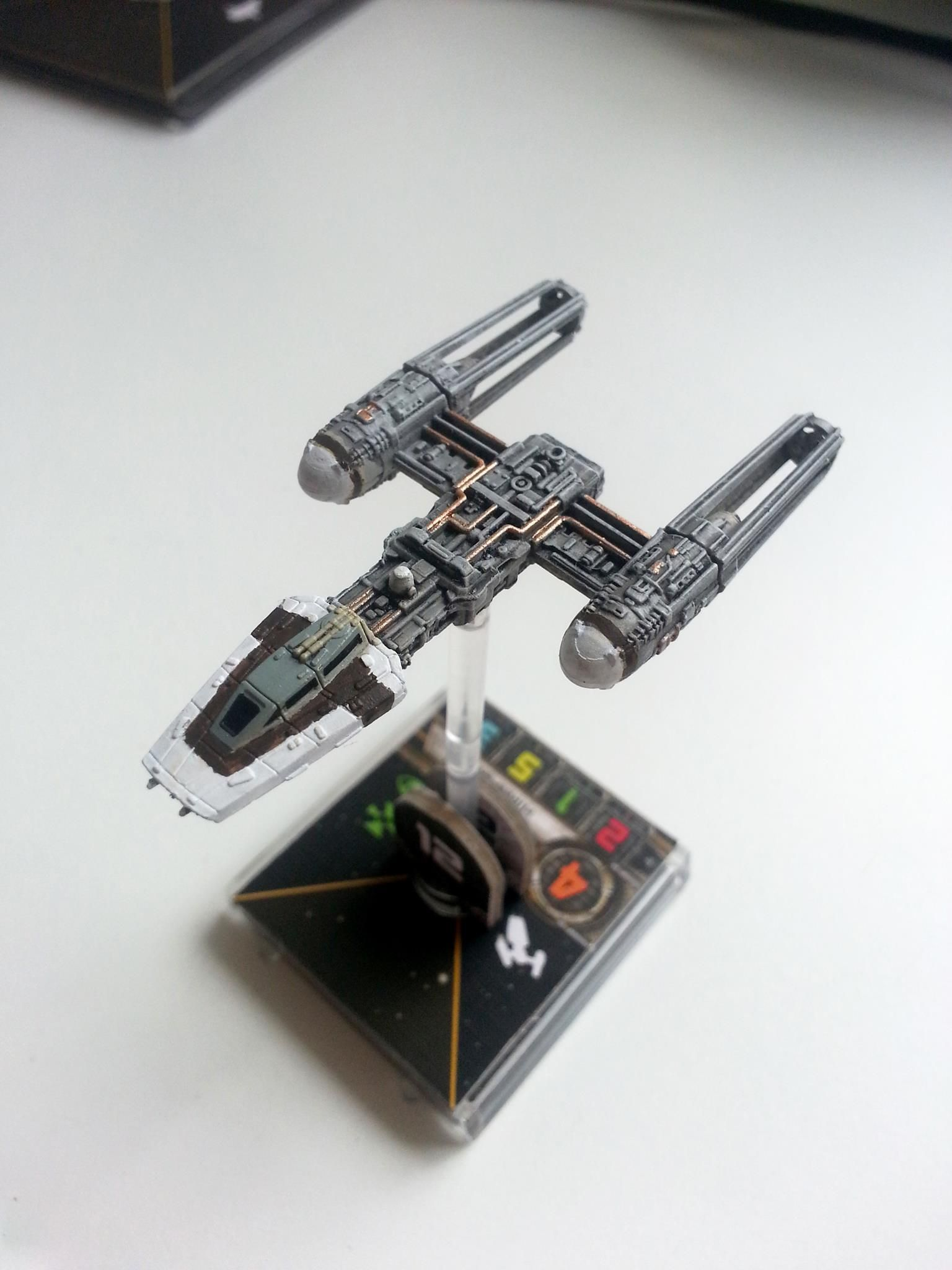 Y Wing Repaint X Wing Miniatures Star Wars Awesome Star Wars Xwing