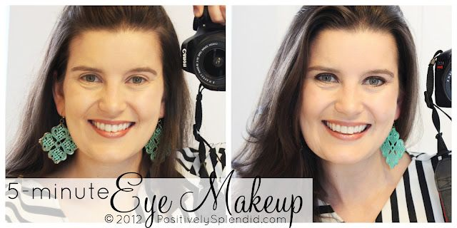 EXCELLENT 5-Minute Eye Makeup Video Tutorial