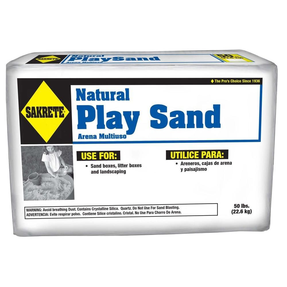 SAKRETE 50 lb  Play Sand | patio | Kids sand, Home depot