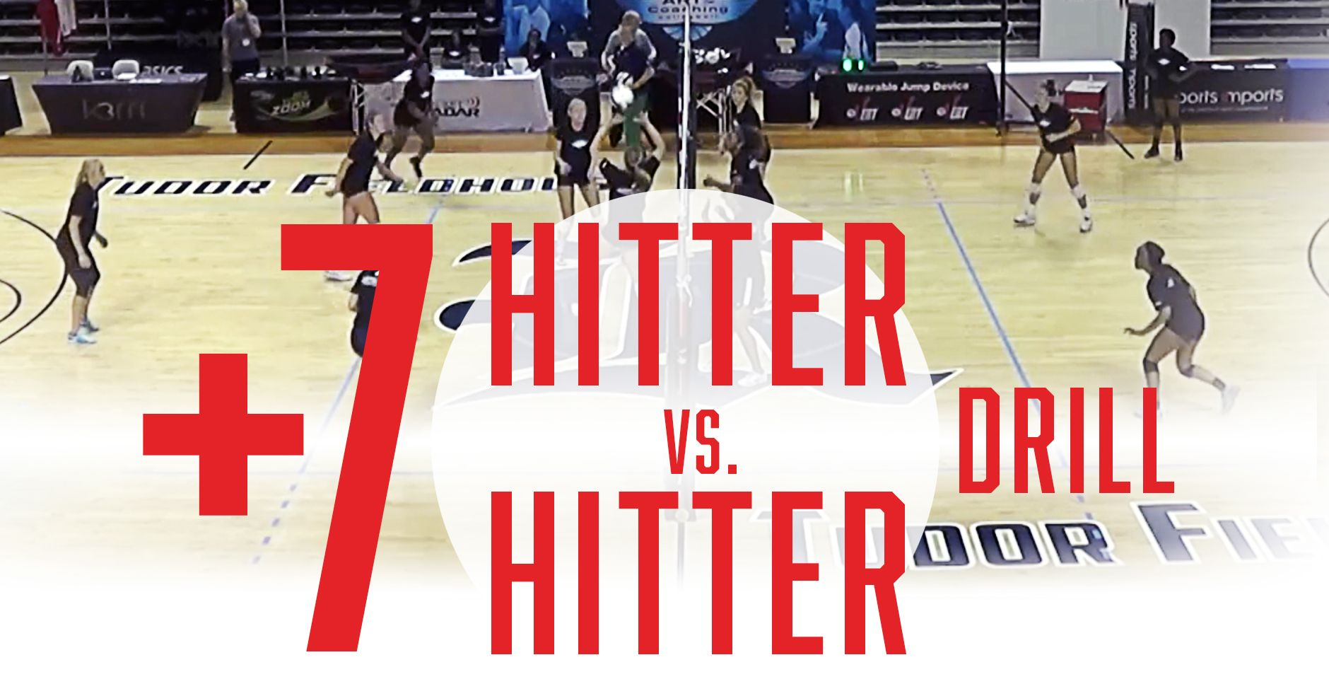 7 Hitter Vs Hitter Drill From Mark Barnard Coaching Volleyball Volleyball Practice Volleyball Workouts