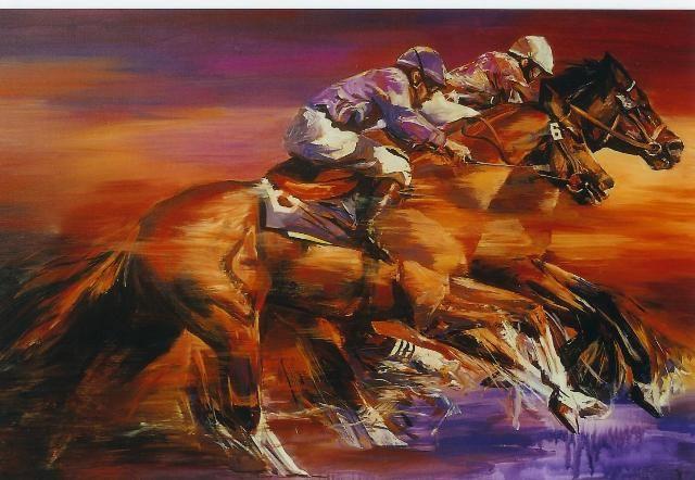 Horse racing | Angelique van de Born