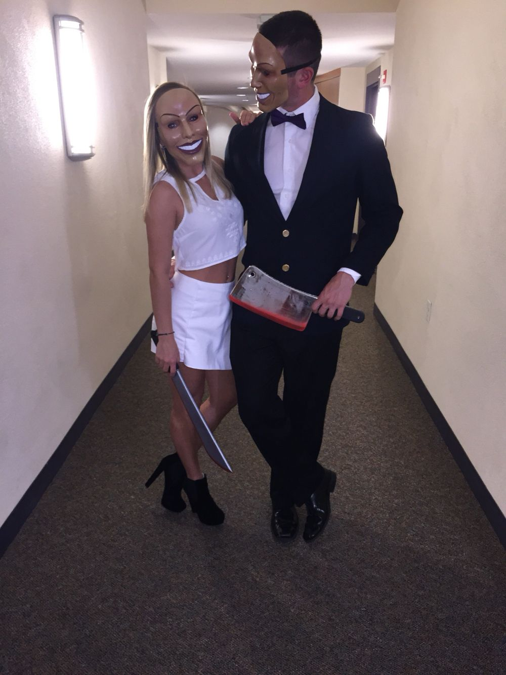 Couple Halloween Costume Idea The Purge | Fashion | Pinterest ...