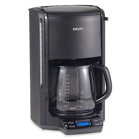 how to program krups coffee maker