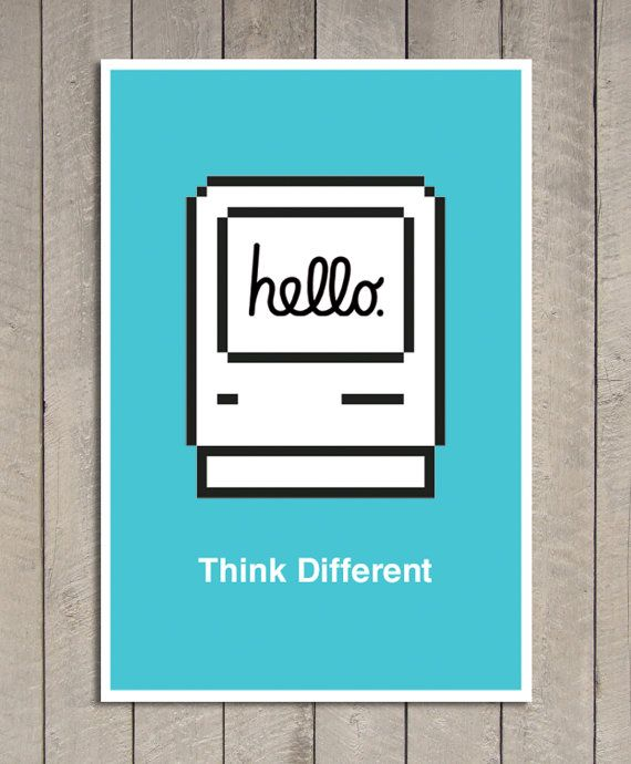 Hello Apple Poster   Pick color   246 in x 164 in  by Signarama,