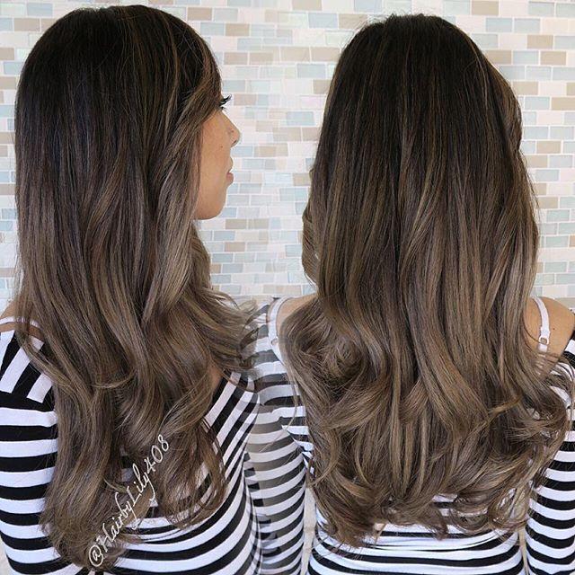 Instagram Photo By Lily Duong Mar 8 2016 At 3 02am Utc Balayage Hair Balayage Asian Hair Hair