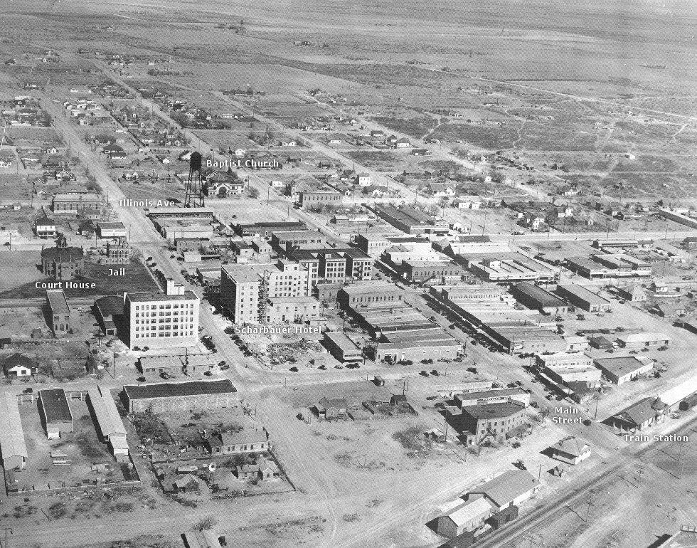 1960's old photos of midland texas | 1950 Midland Texas