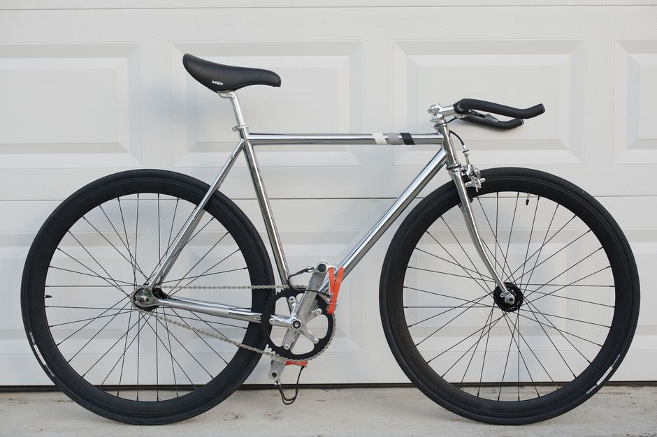 Mercier kilo chrome/black Pedal Room Bike, Fixie, Bicycle