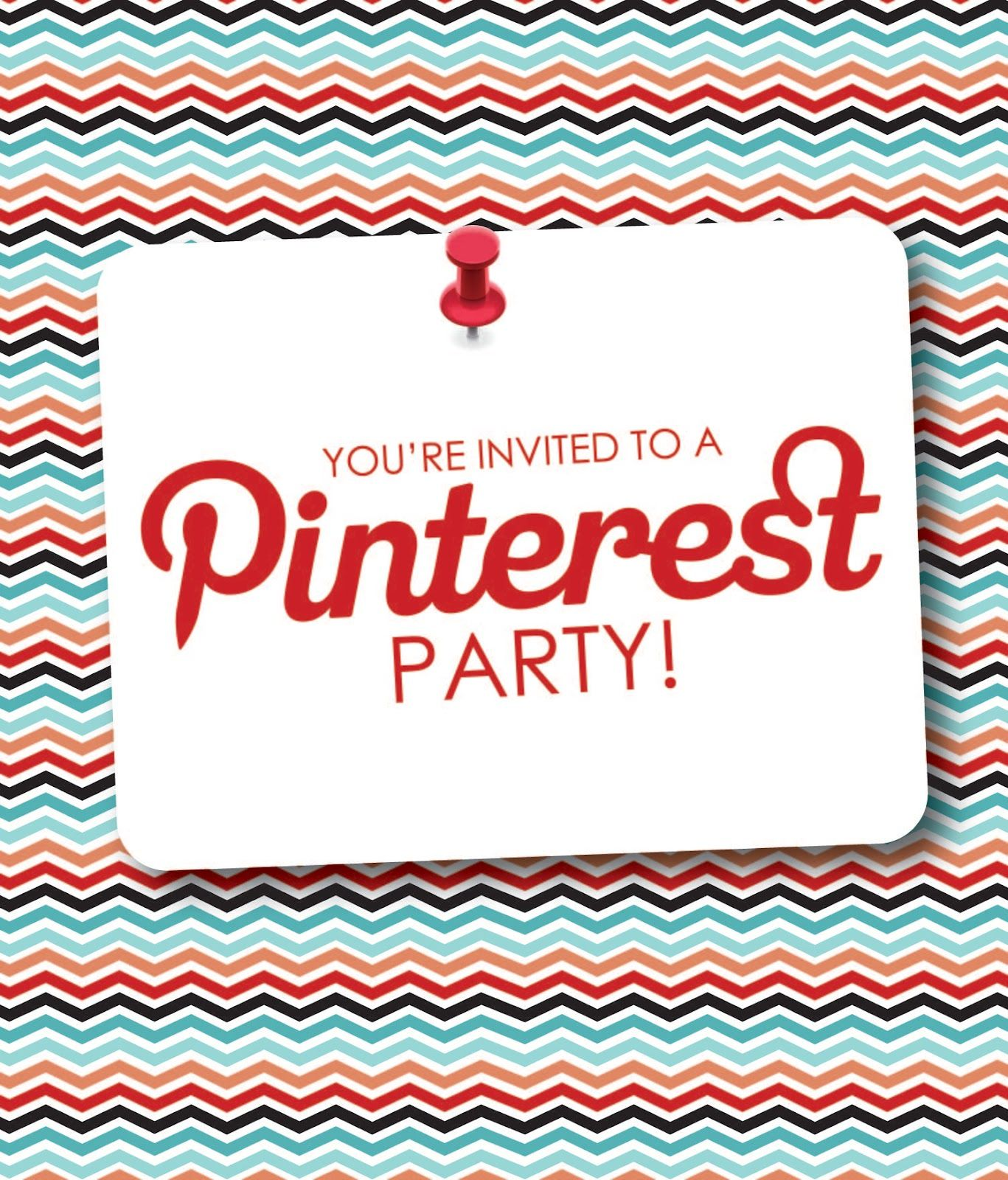 Im looking for my first Pinterest hostess I am just dying to do – Pinterest Party Invitations