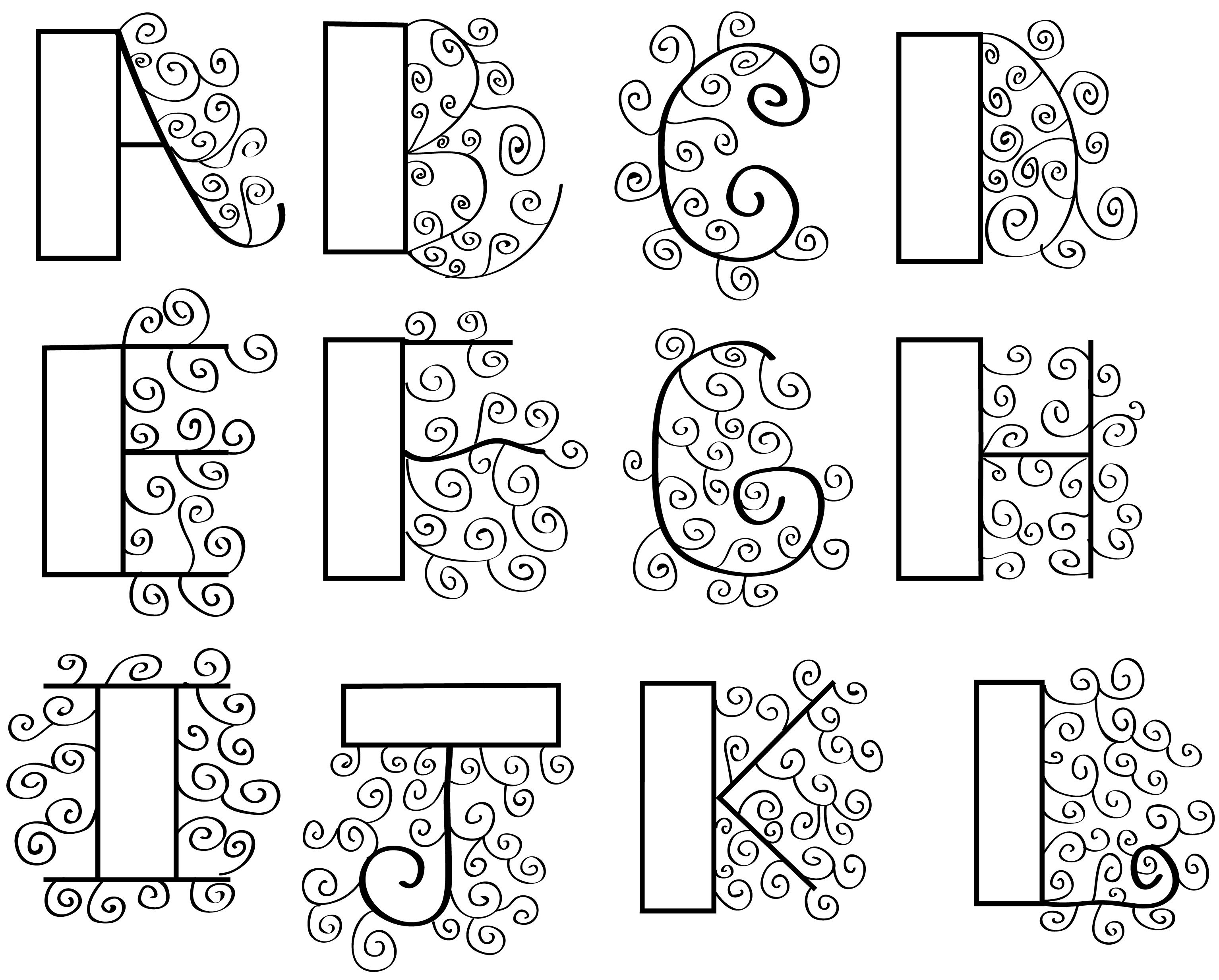 Pretty Bubble Letters