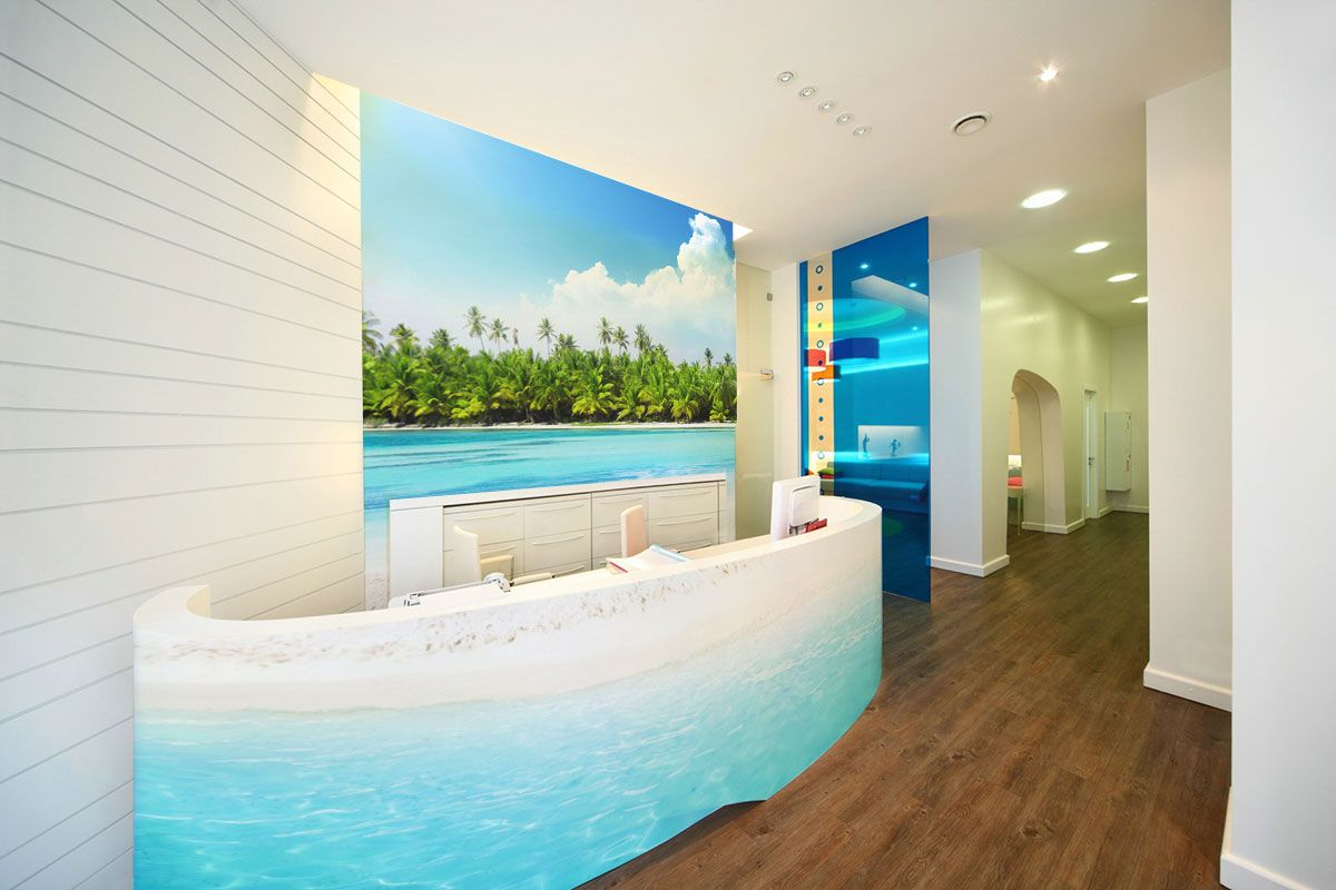 wall murals office. Dental Office Wall Murals