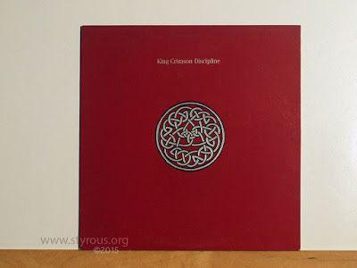 20 000 Vinyl Lps 52 King Crimson Discipline King Crimson Vinyl Lps