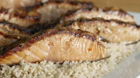 Firecracker Grilled Alaska Salmon Video | Recipes to Cook | Pinterest ...