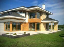Una casa prefabricada de 200 m maravillosa casas prefabricadas y low cost house house - Casas prefabricadas low cost ...