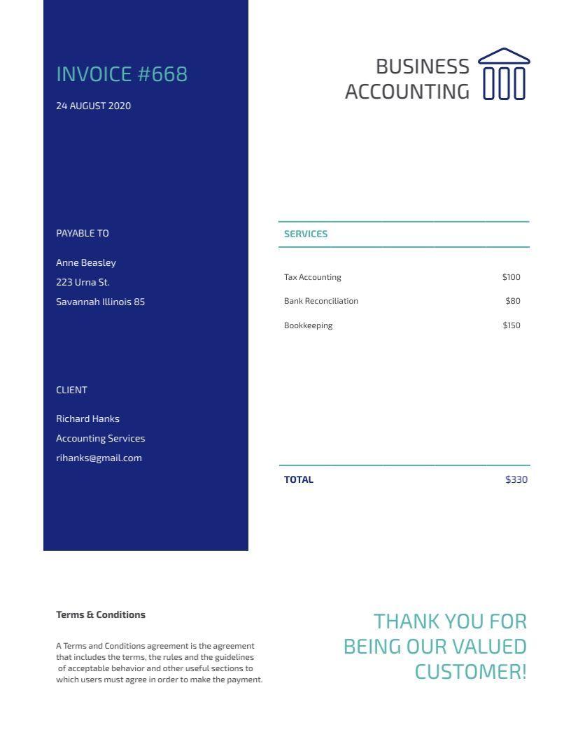 Free invoices templates customize download visme