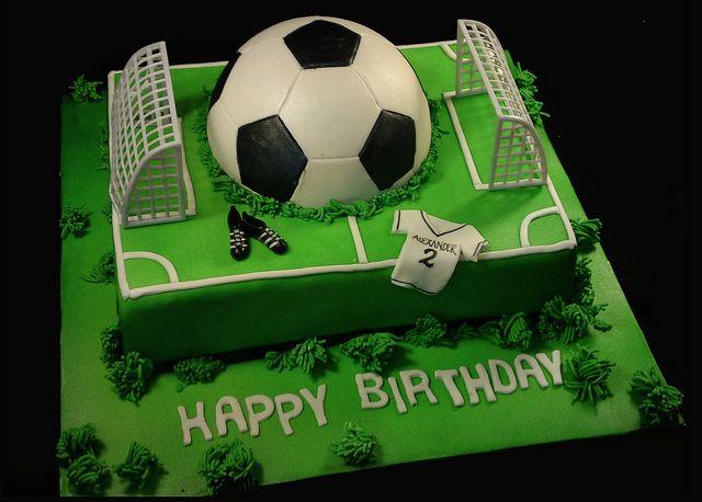 The  Best Football Cakes For Boys Ideas On Pinterest Football - Football cakes for birthdays