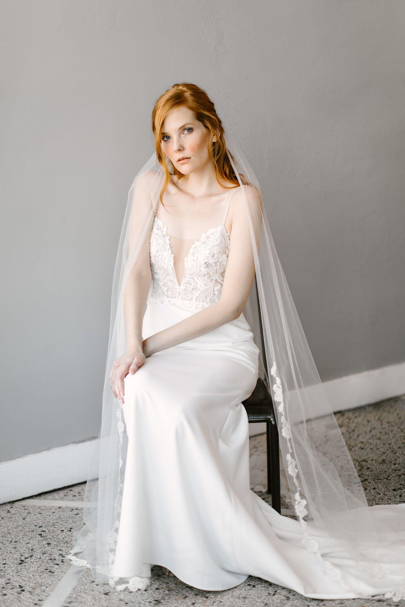 Chelsea Veil | Sara Gabriel | Wedding Veils | Wedding Accessories ...