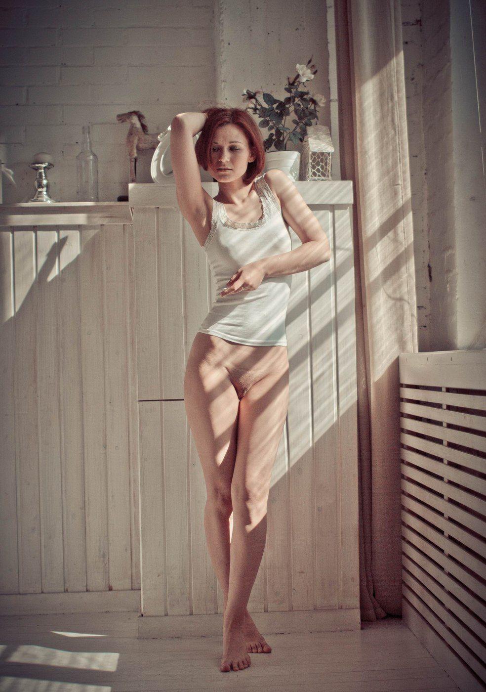 Супер сексуальная голая девочка киска