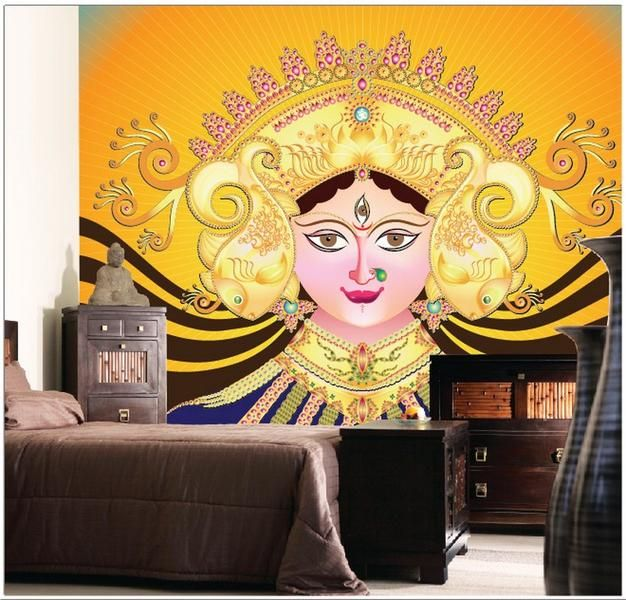 Wall Expressions   PoojaRoom   Pinterest   Puja room, Apartments and ...