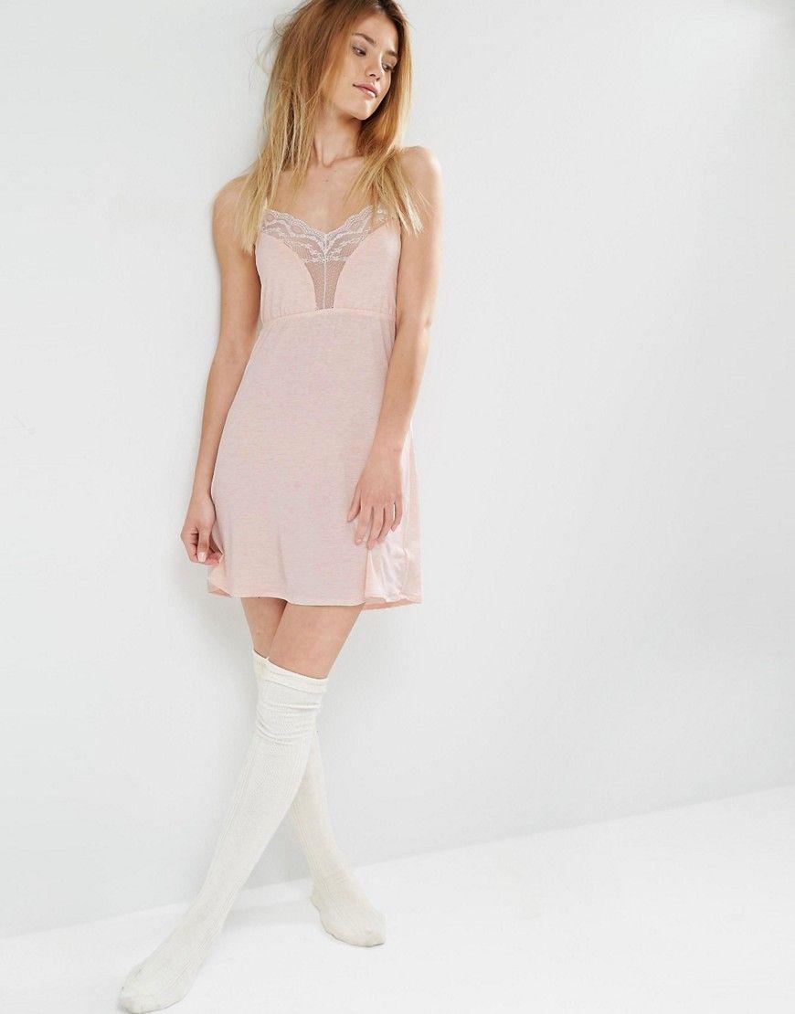 Image 4 ofOysho Jersey Cami Nightdress