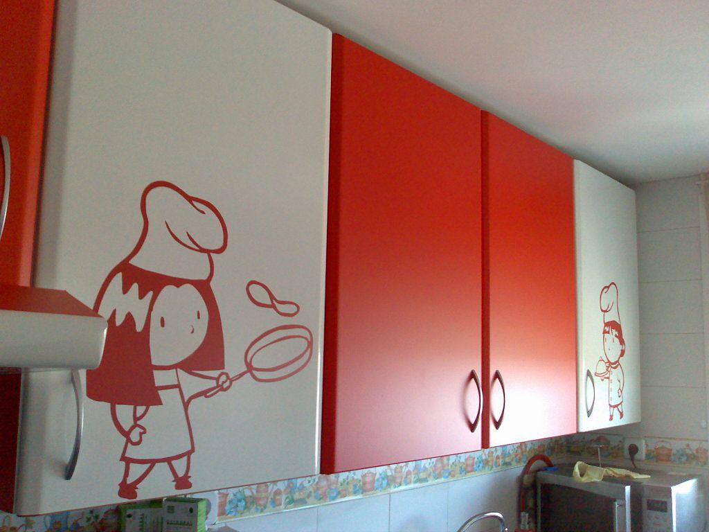 VBQ design: Forrar los muebles de la cocina con vinilo, es fácil ...