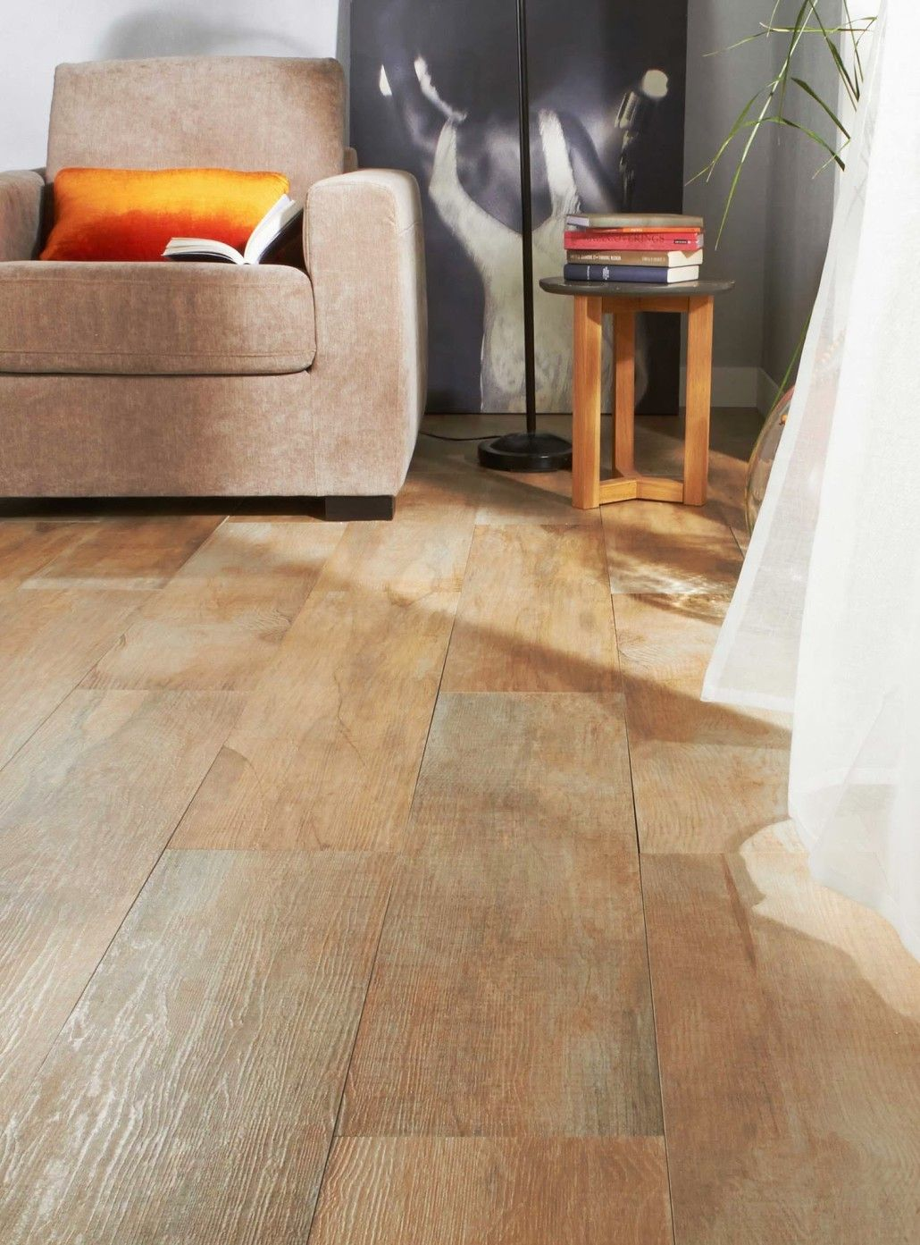 Revetement Carrelage Imitation Parquet Flottant Design
