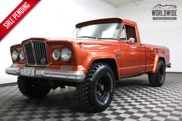 1965 Jeep Gladiator J200 Restored 4x4 V8 Ultra Rare Worldwide Vintage Autos Jeep Gladiator Jeep Jeep Pickup