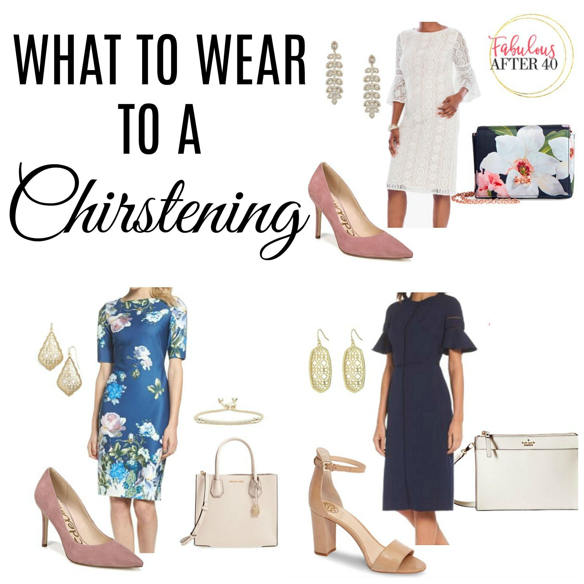 Best dress to wear to a baptism  What To Wear To A Christening  Fabulous After  styleover