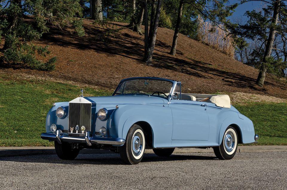 1959 Rolls Royce Silver Cloud I Drophead Coupe