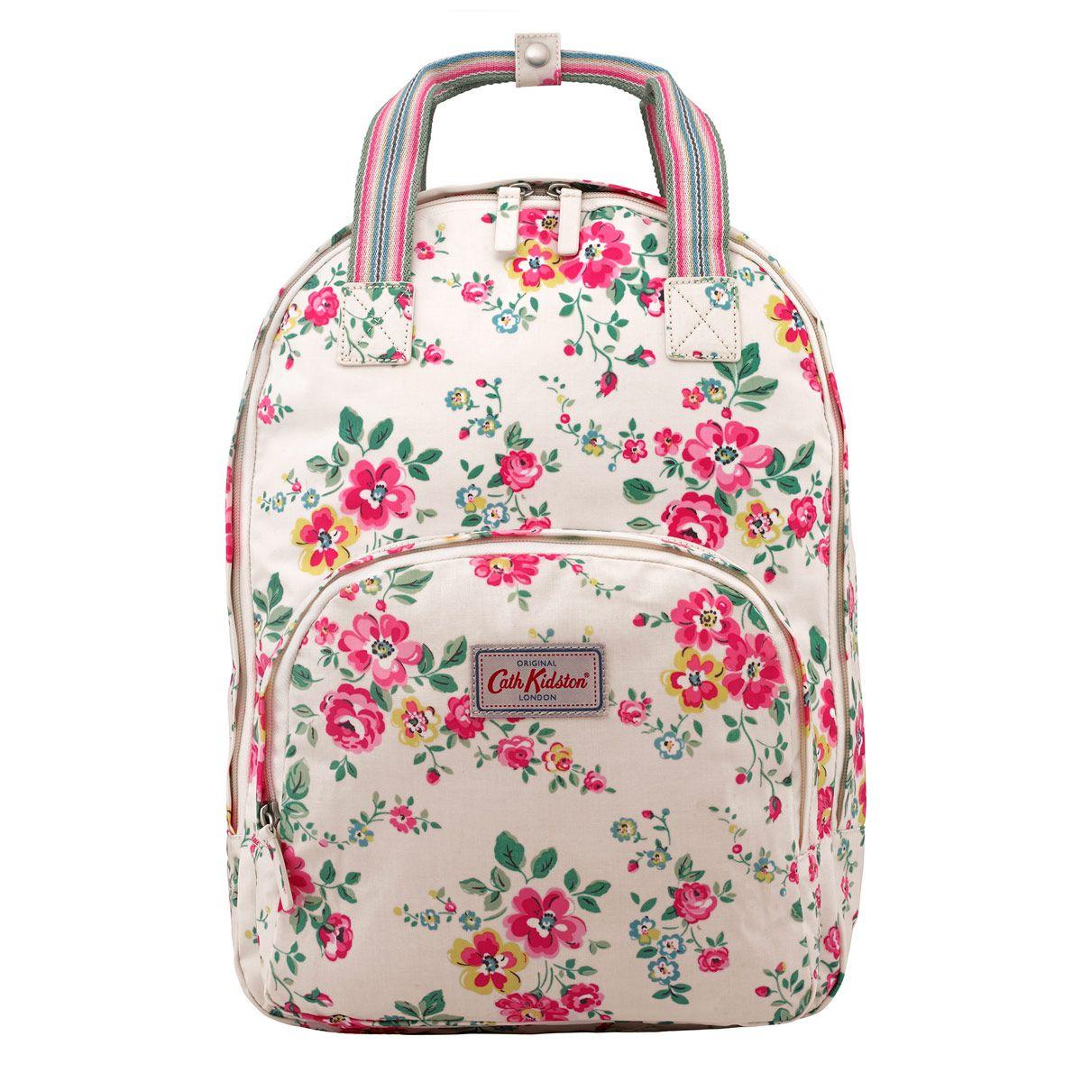 thorp flowers multi pocket backpack backpacks. Black Bedroom Furniture Sets. Home Design Ideas