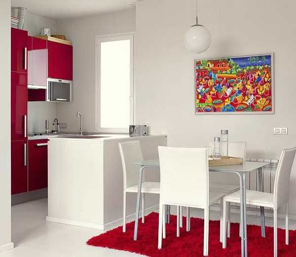 Merveilleux Small Apartment Ideas Blending Functionality, French Elegance And Bold Room  Colors
