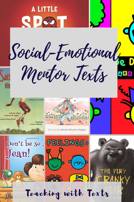 Social Emotional Mentor Texts Social Emotional Mentor Texts Feelings Book