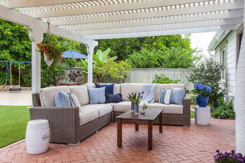 It Is Very Simple To Make And Change The Patio Decoration From