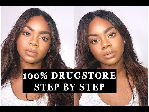 3669 basic beginner makeup tutorial  100 drugstore