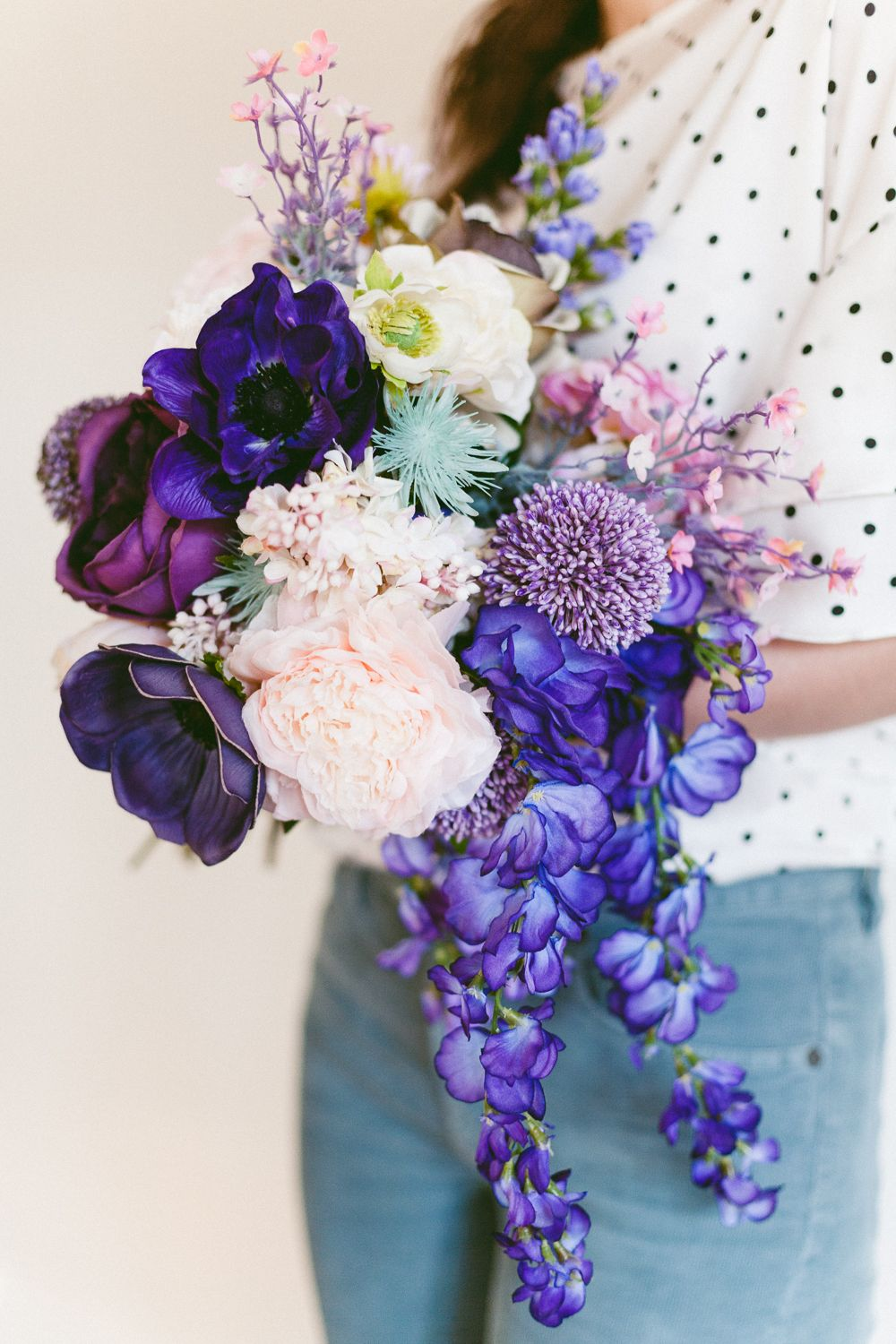 Make This Easy Ultra Violet Wedding Bouquet For Spring Bouquets