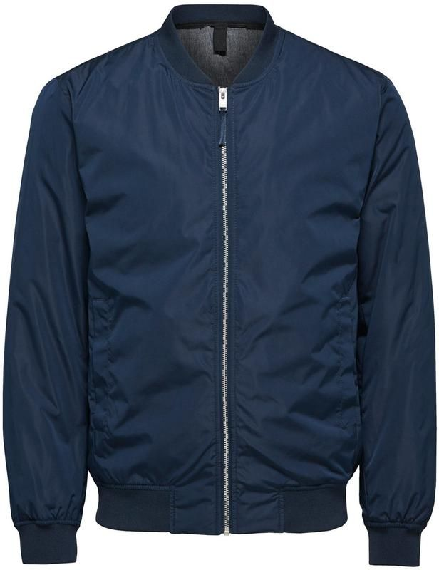 SELECTED HOMME BomberJacke in blau bei ABOUT YOU