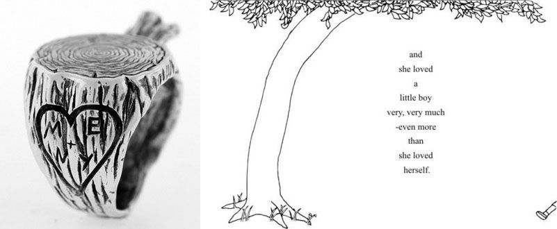 Shel Silverstein Wall Decal: The Giving Tree On Pinterest
