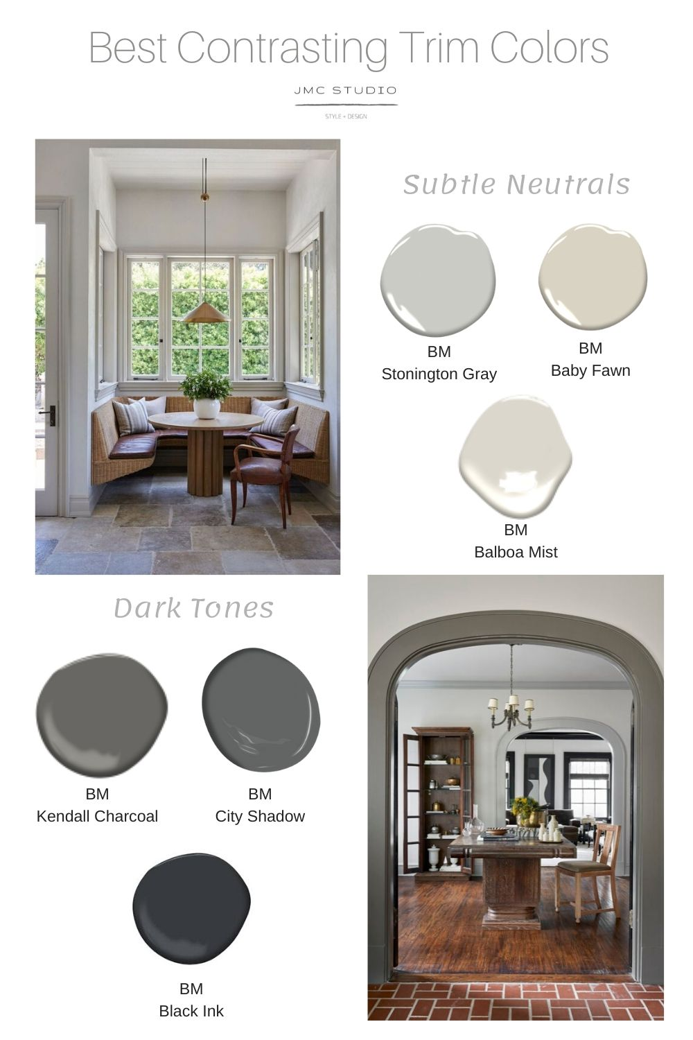 Modern Craftsman Interior Colors : modern, craftsman, interior, colors, Contrasting, Trim:, Trend?, Interior, House, Colors,, Moldings, Trim,, Painting