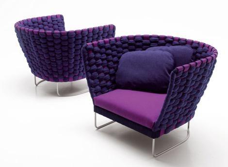 Cozy Purple Space Chair