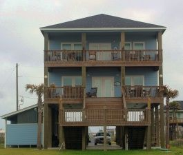 Pelican Crossing Bluewater Beachfront View Swedes Real Estate S And Als Crystal Beach Bolivar Texas Vacation