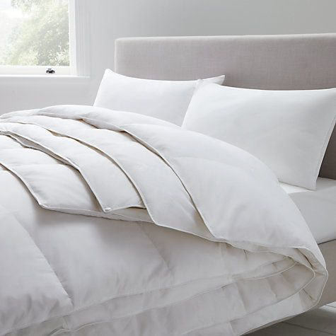 John Lewis Clic Duck Feather And Down Duvet All Seasons 13 5 Tog 9