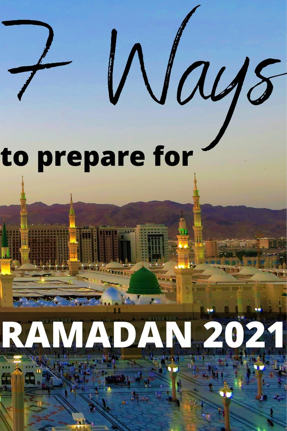 How To Prepare For Ramadan 2021 In 2021 Preparing For Ramadan Ramadan Muslim Charity
