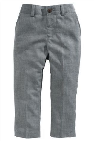 Grey formal trousers from the Next UK online shop for Joe