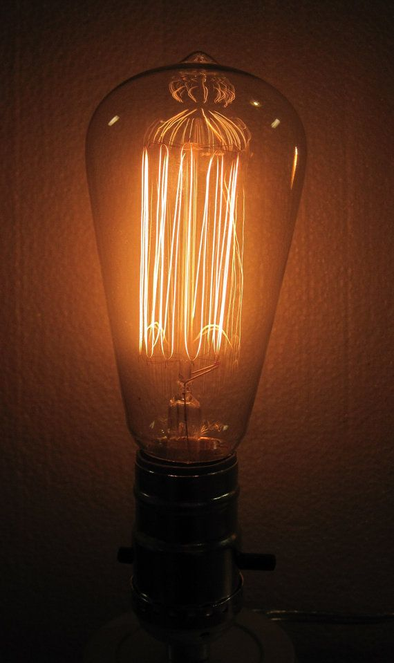 cool looking vintage looking light bulb