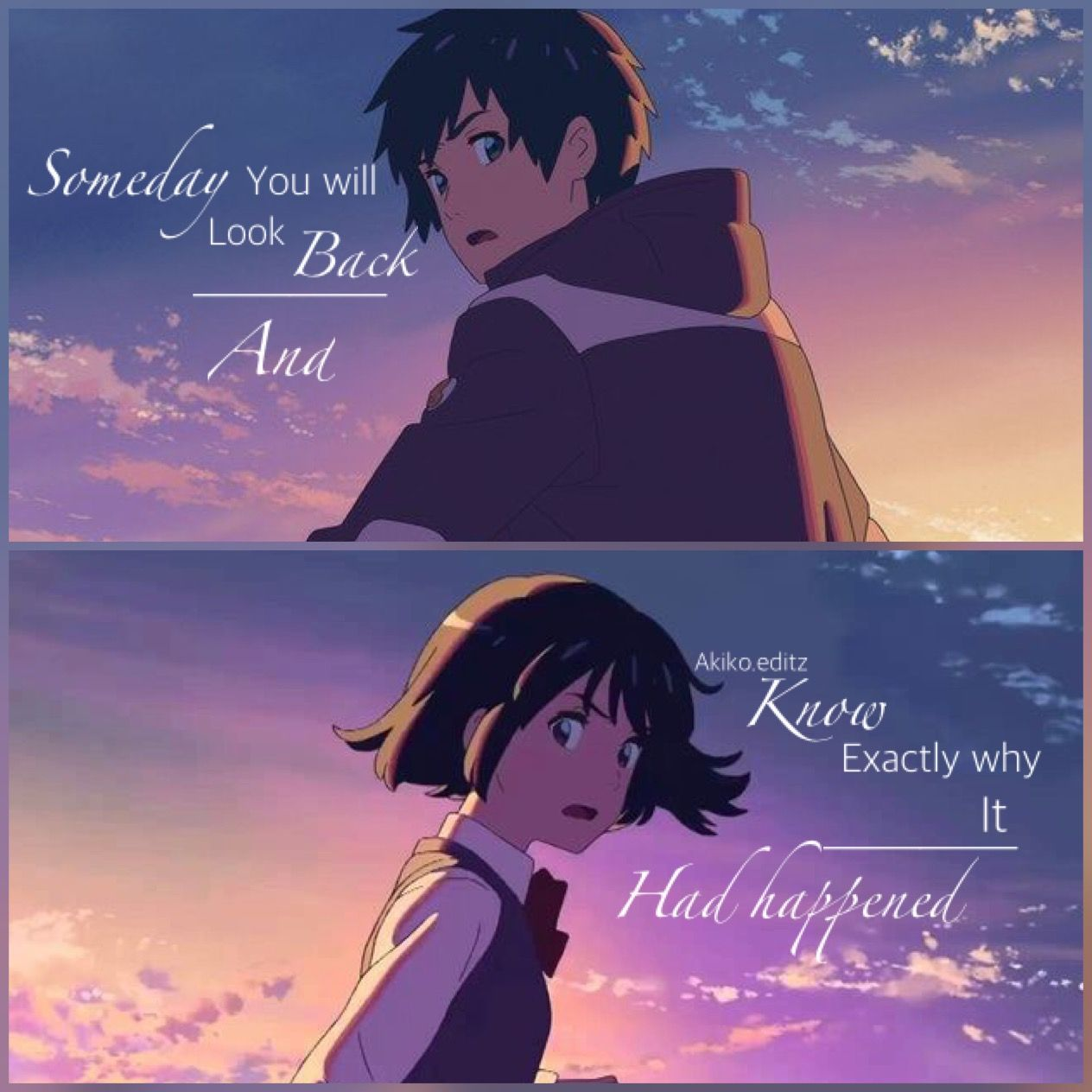 Alisha W. Anime quotes, Anime love quotes, Anime qoutes
