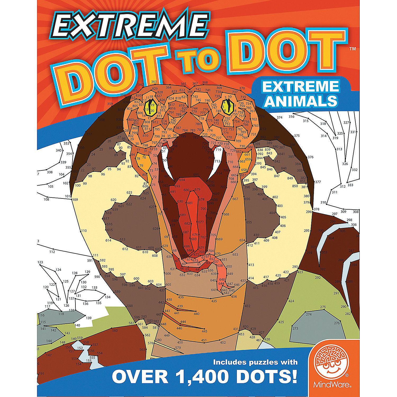 extreme dot to dot extreme animals mindware com teaching