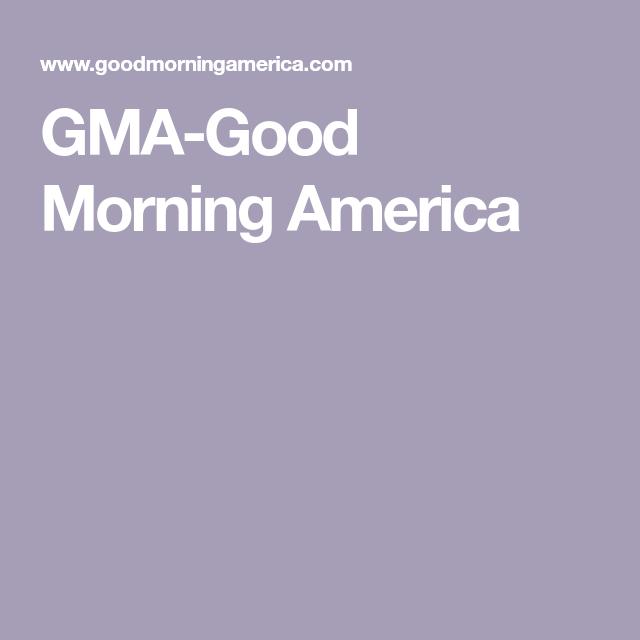 Gma Good Morning America Good Morning America Gma Recipes America Food