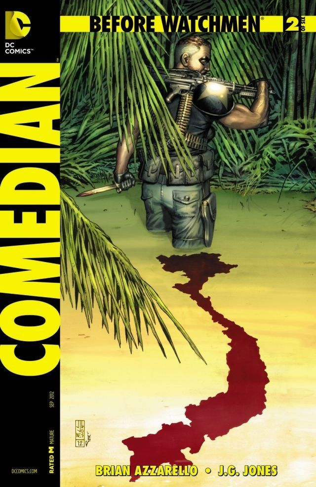 Before Watchmen: Comedian #2 (of 6) #BeforeWatchmen #Comedian #DC